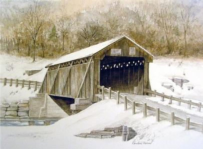Beaverkill Covered Bridge 2
