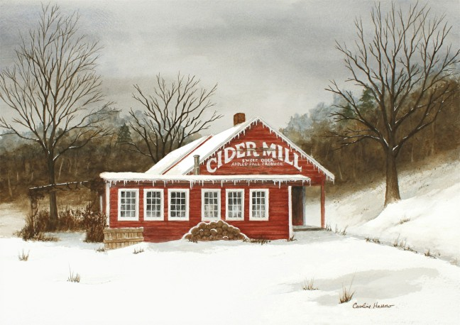 Mill giclee