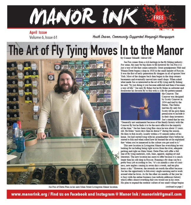 Manor Ink April